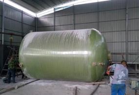 赣州玻璃钢化粪池案例