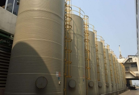 赣州PPH缠绕储罐案例