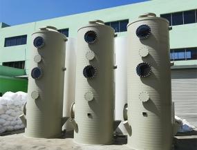 江西PPH废气处理喷淋塔生产厂家案例