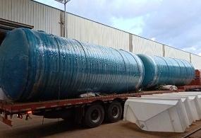 化粪池厂家介绍玻璃钢化粪池的受腐蚀进程