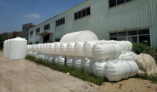 耐腐蚀容器0.6立方化粪池一体成型化粪池