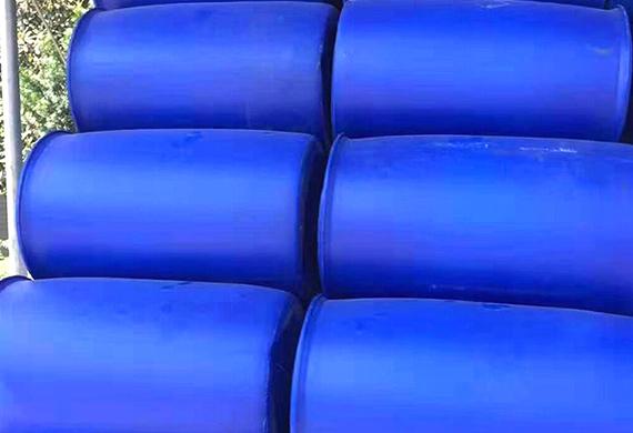 厂家批发HDPE蓝色闭口双环桶