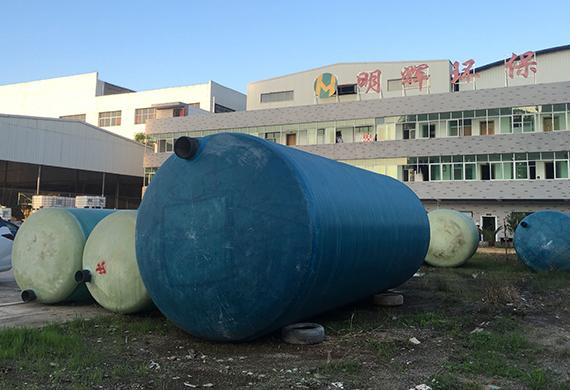 赣州缠绕玻璃钢隔油池化粪池