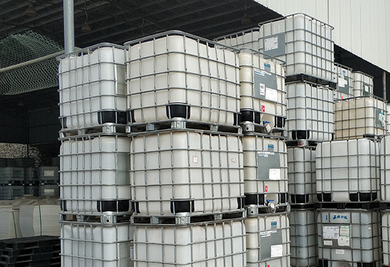 PE白色方形吨桶