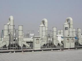 废气处理塔安装