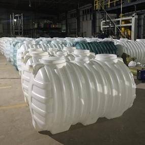 九江耐酸碱容器0.8立方化粪池塑料PE化粪池