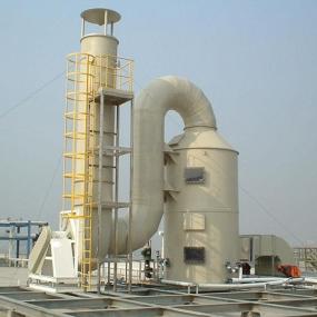 九江PP喷淋塔废气处理塔环保设备