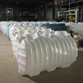 农村厕改1立方塑料化粪池
