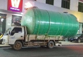 广西地埋式2立方玻璃钢化粪池