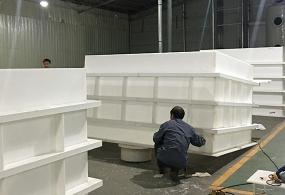广西加工定制PP电解槽水槽