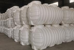 一体式白色塑料化粪池