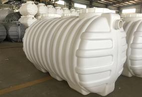 塑料三格一体化粪池