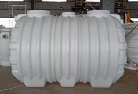 旱厕改造三格PE化粪池