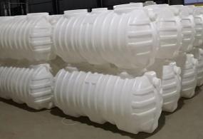 小型白色塑料化粪池