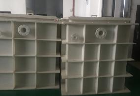 九江定制PP水槽电解槽