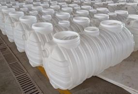 九江牛筋三格式塑料化粪池