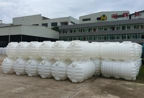 九江三格分离式塑料化粪池