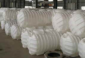 农村三格PE塑料化粪池