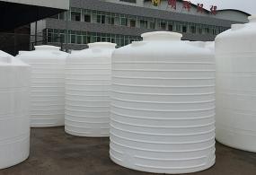 九江平底液体塑料储存罐