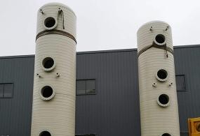 南昌PPH废气喷淋塔