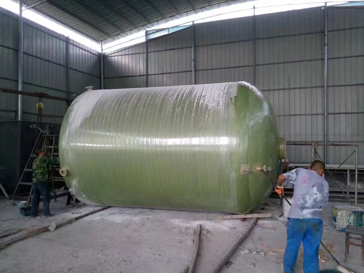 玻璃钢化粪池生产